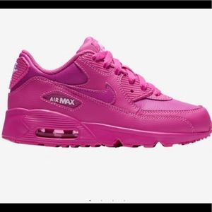 Nike Air Max 90 pink girl sneakers